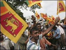 Celebrations in Sri Lanka on 18 May 2009