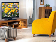 Television and furniture