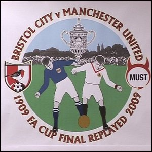 Bristol City and Manchester United replay the 1909 FA Cup final