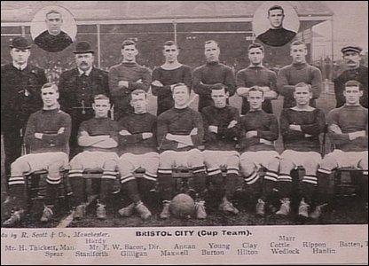Bristol City's FA Cup squad