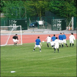 Manchester United on the attack