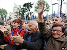 Georgian opposition protest (13 May 2009)