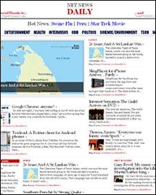 New News Daily screen grab