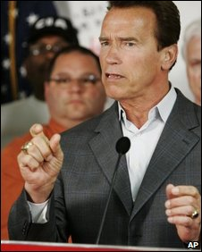 Gov Schwarzenegger outlines the need for the budget measures
