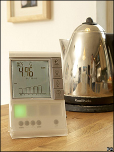 Smart meter and kettle