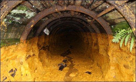 Cwm Rheidol Mine