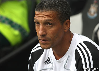 Newcastle coach Chris Hughton
