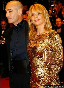 Rosanna Arquette with Jean-Marc Barr