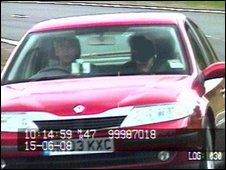 Speed camera photo issued by Lancashire Police