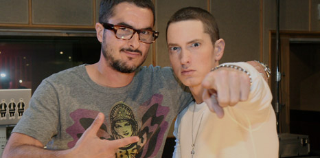 Zane Lowe and Eminem