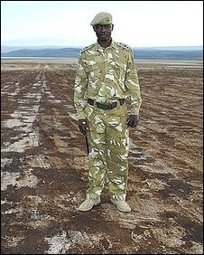 Paul Opiyo, Deputy Warden, Lake Nakuru National Park