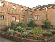 Parkhurst Prison on the Isle of Wight