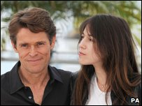 Willem Dafoe and Charlotte Gainsbourg