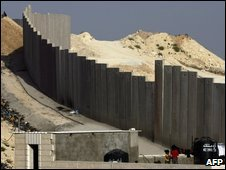 The barrier Israel built through the West Bank