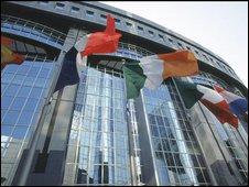 European Parliament in Brussels