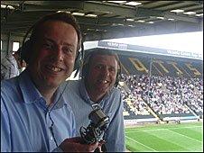 Stuart Dunn and Steve Cross