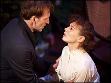Christopher Eccleston and Tara Fitzgerald in A Doll's House (photo byJohan Persson)