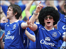 Fellaini has become a cult hero for Everton fans