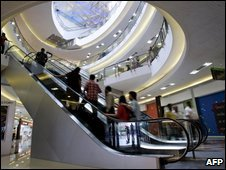 Shopping centre in Kolkata