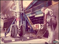 Concorde wheel (NPL)