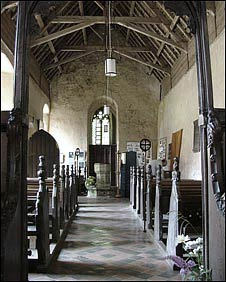 Inside All Saint's Church, Horsey, Norfolk (Photo: Simon Knott)