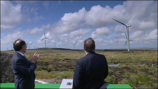 Eaglesham Moor wind farm