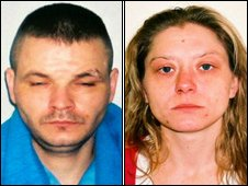 Scott Hancox and Amanda Allden. (c) West Mercia Police