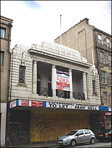 Odeon cinema on Clerk Street
