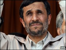 Iranian President Mahmoud Ahmadinejad (20 May 2009)