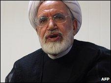 Iranian presidential candidate Mehdi Karroubi (15 May 2009)