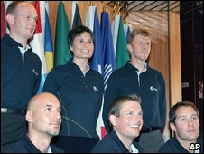 Europe's six new astronauts