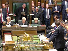 Prime Minister's Questions in the UK House of Commons