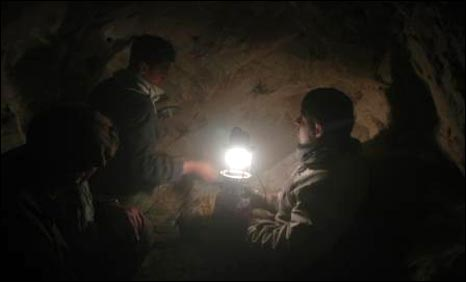 Inside an emerald mine in Afghanistan