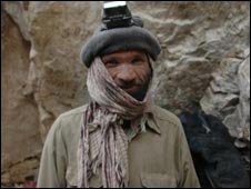 An emerald miner in Afghanistan