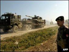 Soldier in Buner
