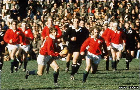 Barry John helps guide the 1971 Lions to a stunning series win in New Zealand