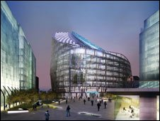 Artist impression of Co-op headquarters in Manchester