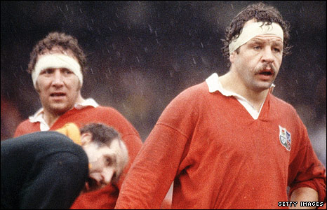 Captain Bill Beaumont on the 1980 Lions tour of South Africa