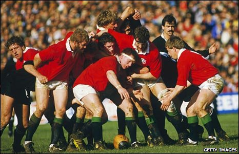 Captain Ciaran Fitzgerald with the struggling Lions on the 1983 tour to New Zealand