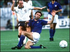 Ancelotti was a hard-tackling midfielder who played 26 times for ItalyAncelotti Player