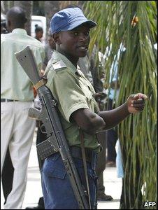 Police officer, Zimbabwe