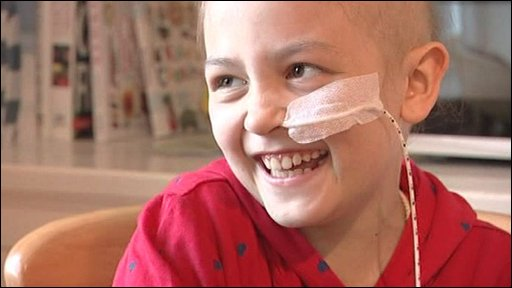 Sophie Fry is battling a rare form of cancer