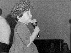 A young Coleen Nolan