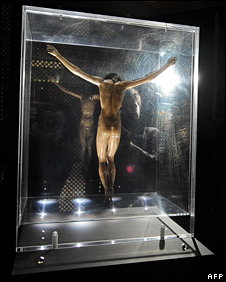 Sculpture of Christ on the Cross (2 January 2009)
