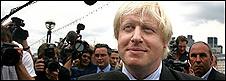Boris Johnson elected as London mayor
