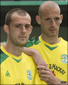 Steven Fletcher (left) and Rob Jones