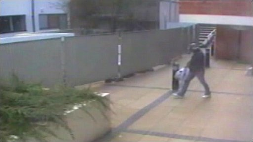 Mohammed Ali filmed leaving Jupiter Apartments in Birmingham