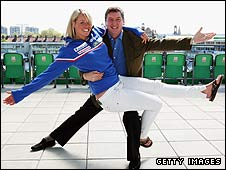 Chemmy Alcott and Robin Cousins