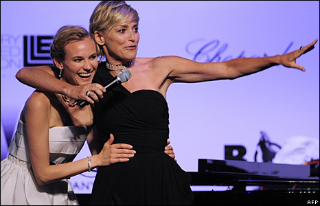 Diane Kruger and Sharon Stone
