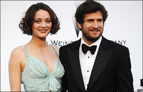 French actor and director Guillaume Canet and actress Marion Cotillard